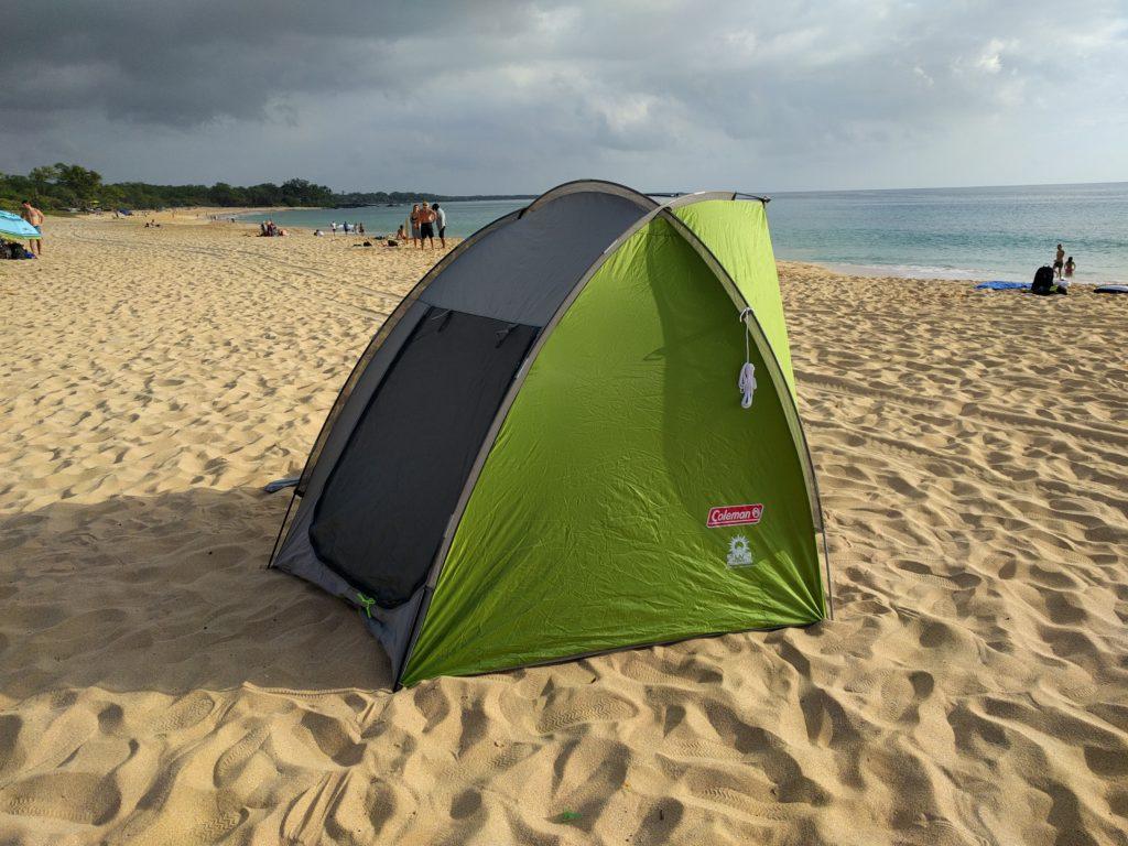 Coleman Beach Tent